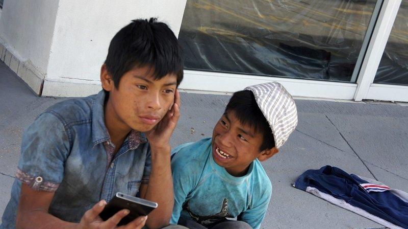 Cuando la patria se convierte en un semáforo - Niños-de-Chiapas-Tzotziles.II-Foto-Carlos-de-Urabá