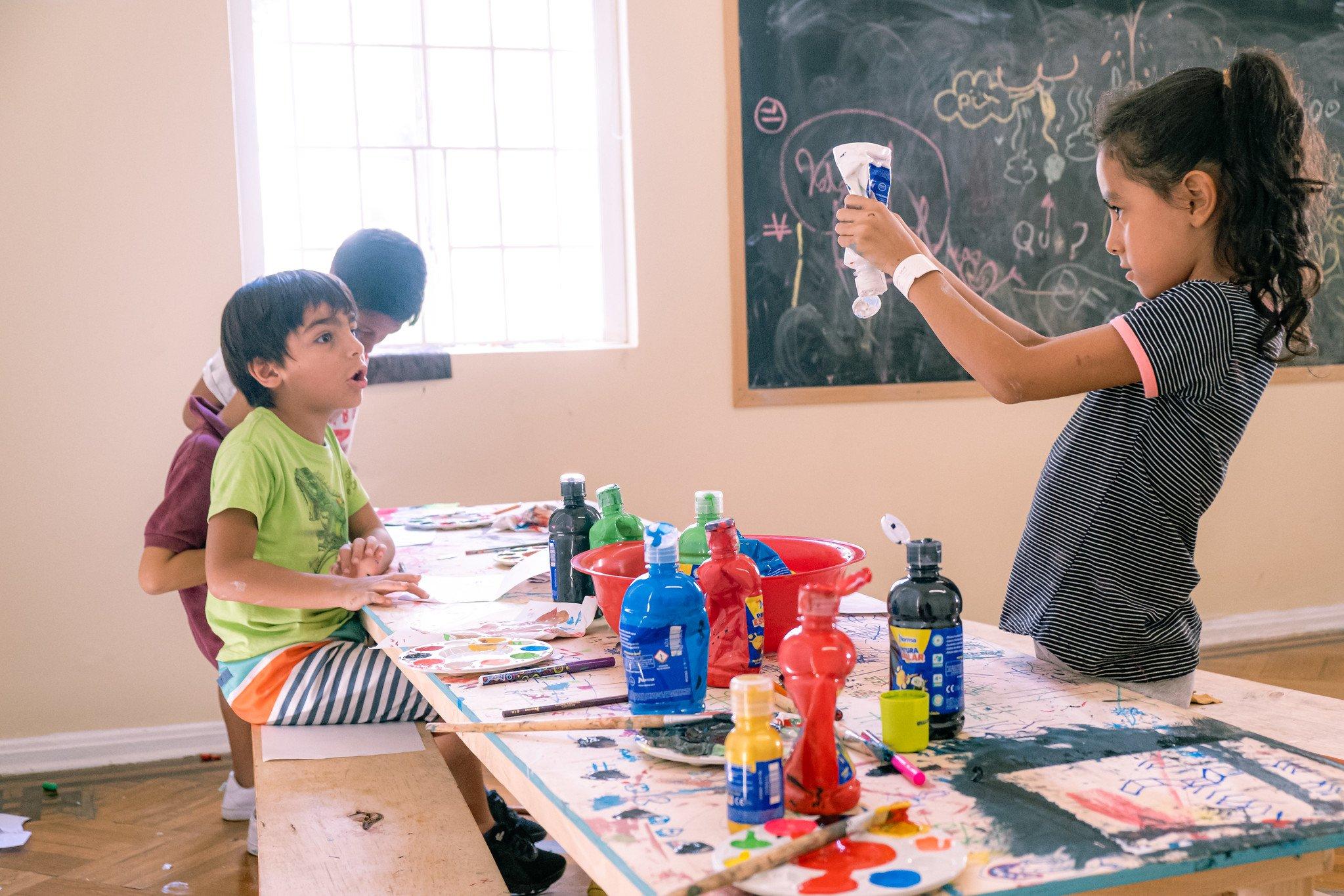 Ya están abiertas las inscripciones a los talleres de creación del Museo La Tertulia - Pintura-para-niños