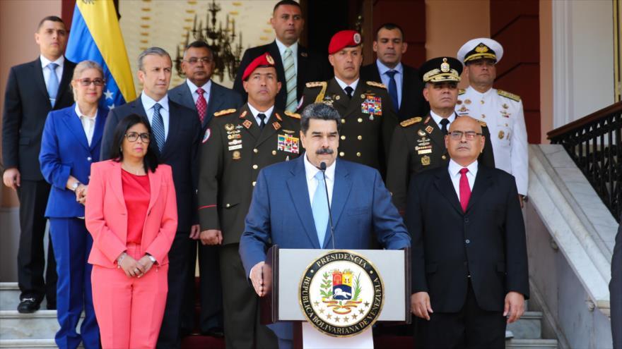Maduro: Unilateralismo desmedido de EEUU lleva al mundo al caos - 23480024_xl