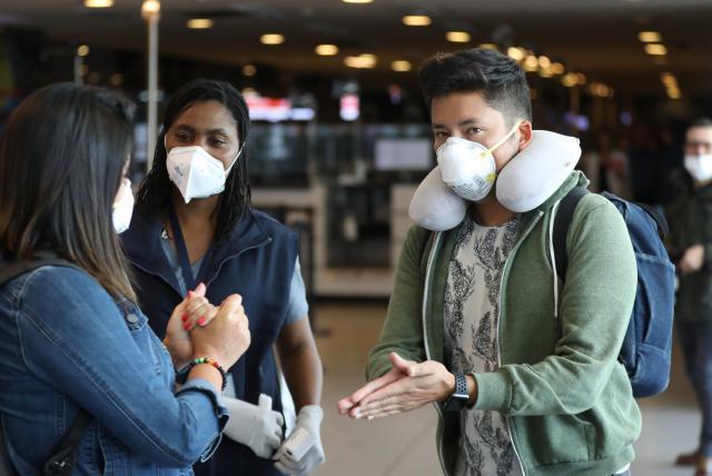Se han reforzado controles en los aeropuertos del país. Foto: EL TIEMPO