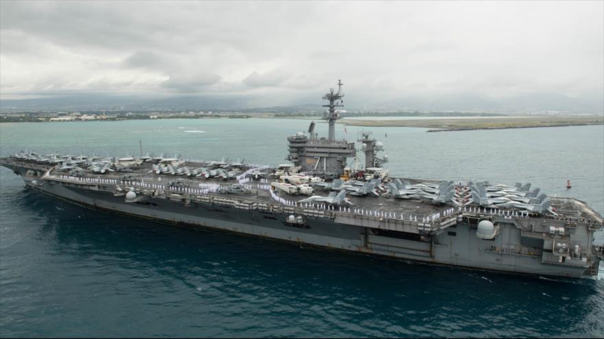 Pentágono rechaza evacuar portaviones de EEUU afectado con COVID-19 - 01263976_xl