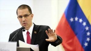 Ministro de Relaciones Exteriores de Venezuela, Jorge Arreaza