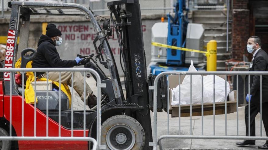 Pentágono busca proveer 100 mil bolsas para cadáveres por COVID-19 - 08504822_xl