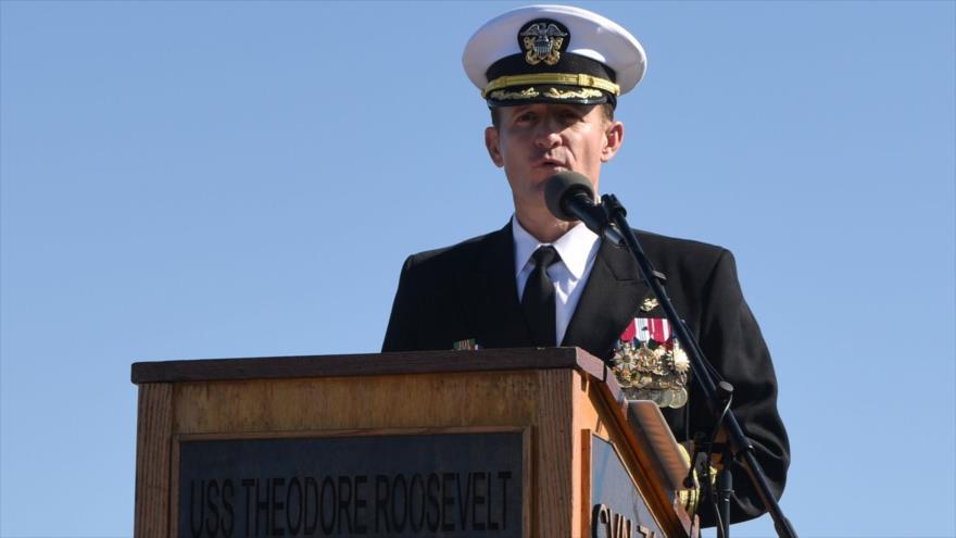EEUU retira de su cargo al capitán que pedía ayuda ante COVID-19 - 23412458_xl