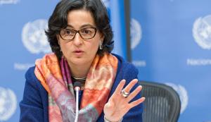Ministra española de Asuntos Exteriores, Unión Europea (UE) y Cooperación, Arancha González Laya.
