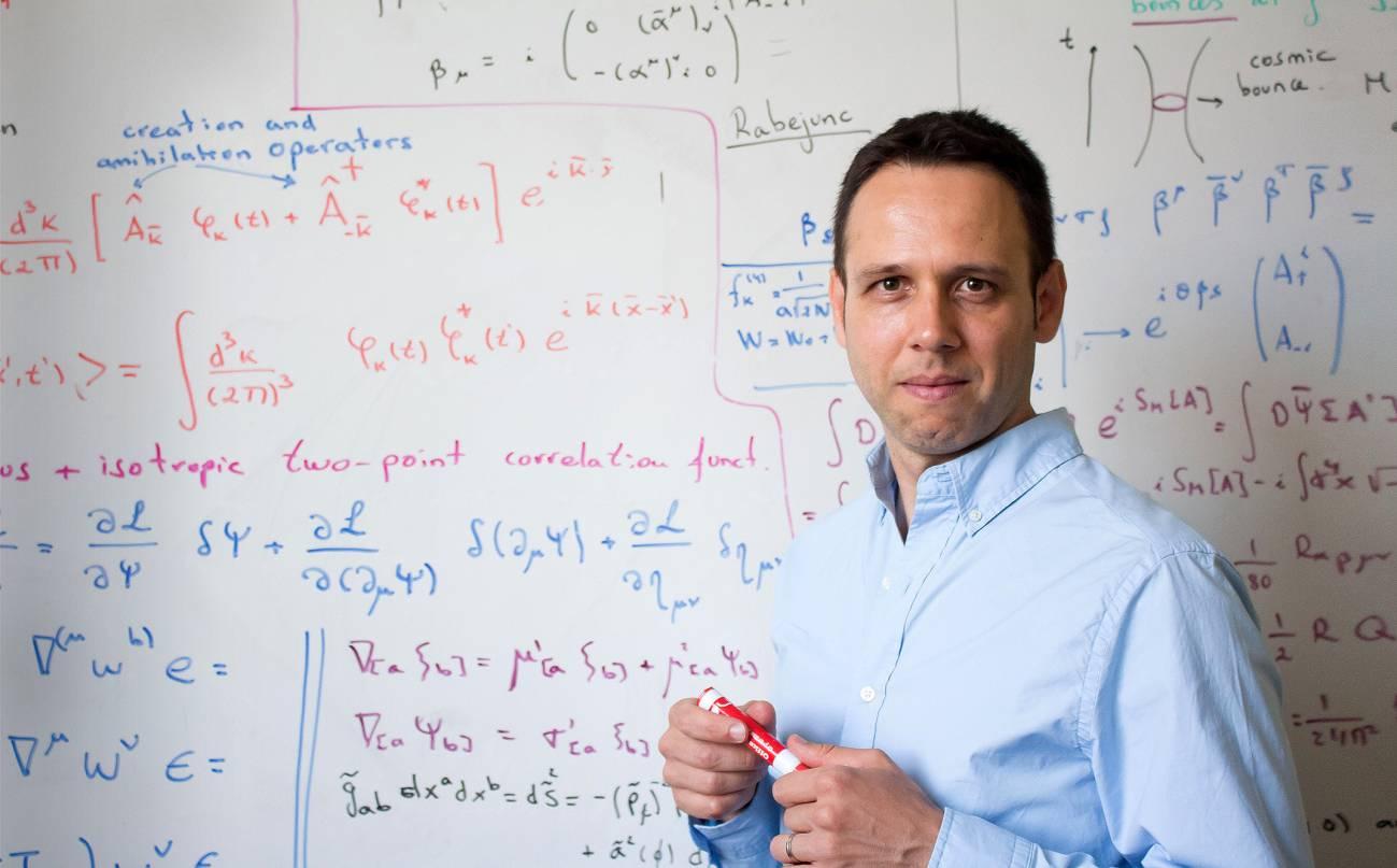 """""""No estamos seguros de que el universo comenzara en el Big Bang"""" Iván Agulló, físico teórico en la Universidad Estatal de Luisiana (EE UU) - No-estamos-seguros-de-que-el-universo-comenzara-en-el-Big-Bang"""