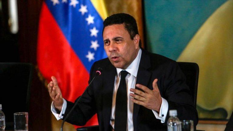 El embajador de Venezuela ante la Organización de las Naciones Unidas (ONU), Samuel Moncada.