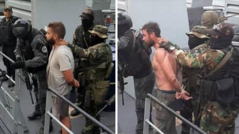 Venezuela informa de la detención de dos estadounidenses que trabajan con un veterano de EE.UU. involucrado en la fallida incursión armada en el país bolivariano.