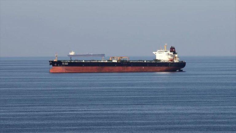 Un petrolero transita por el estrecho de Ormuz, 21 de diciembre de 2018.
