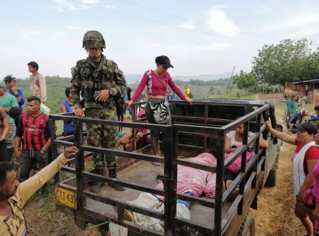 El Ejército sigue hostigando comunidades en la misma zona donde asesinaron a líder campesino - Asesinato-de-Emerito-Digno-Buendia
