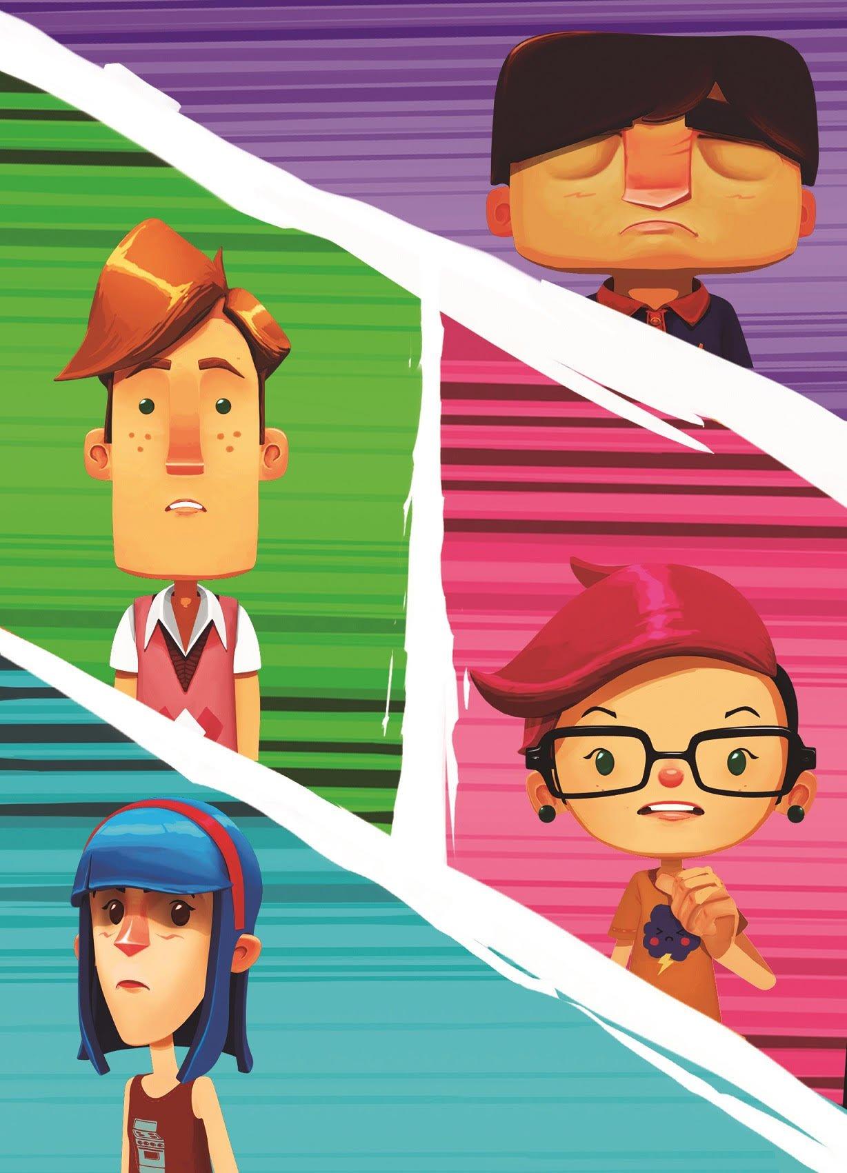 Krakatoa, la serie argentina desarrollada por aprendices de animación del Sena, se verá en Capital - unnamed-4