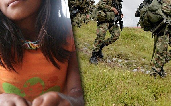 Militarización, violencia sexual y competencia jurisdiccional en caso de niña del pueblo Embera katío - Embera-Militares
