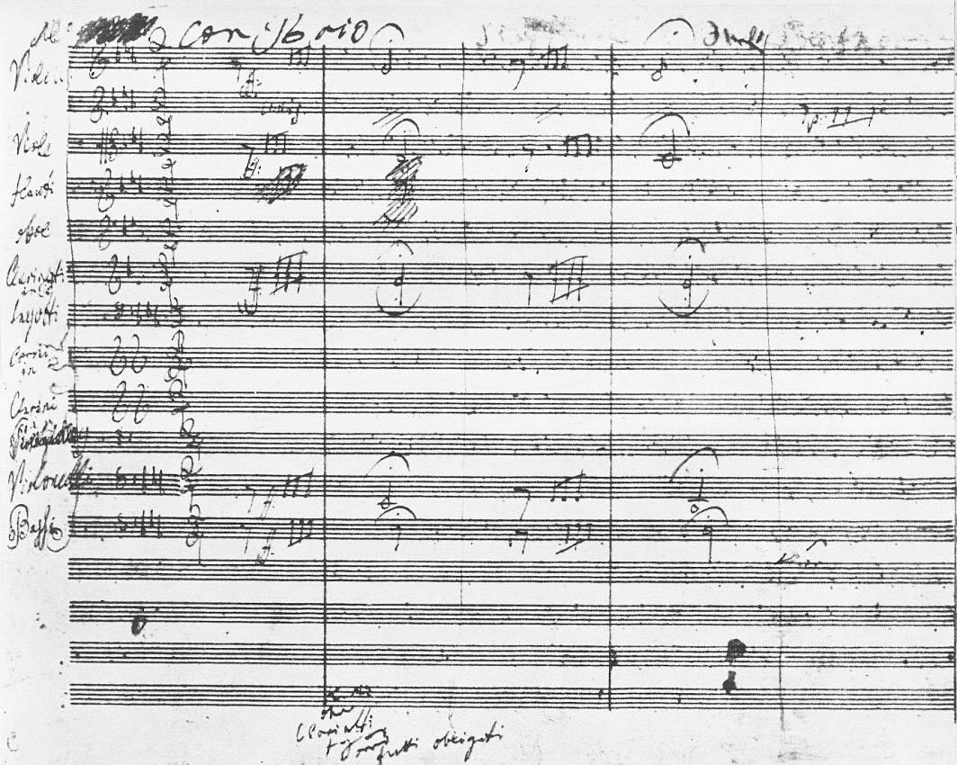250 años de Beethoven, el gran músico atormentado por una sordera gradual - Manuscrito
