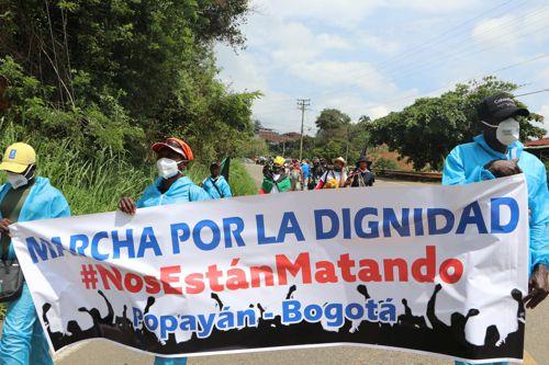 La Marcha por la Dignidad llegó a Ibagué - Avanza-hacia-Bogotá-la-Marcha-por-la-dignidad-4
