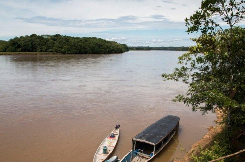 Afectación ambiental por empresa petrolera en la Zona de Reserva Campesina Perla Amazónica - Rio-Putumayo-desde-Bajo-Cuembi