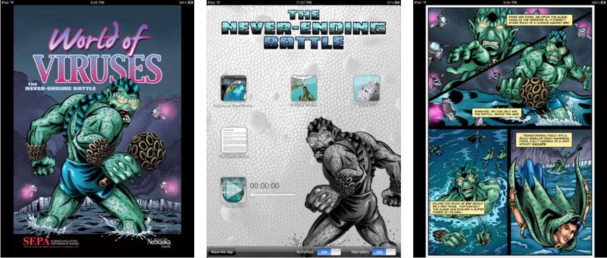 Cómics y videojuegos para comprender el mundo de los virus - portada