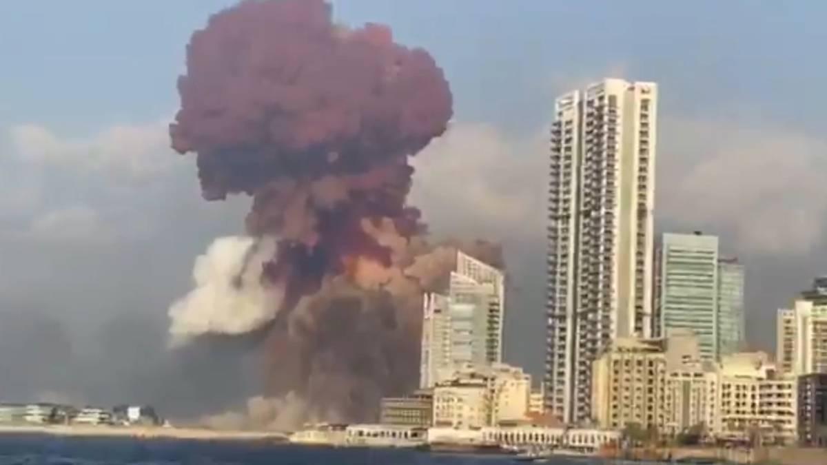 Beirut, sangre y fuego: Vi gente volando por el aire - 1596559048_686481_1596559095_noticia_normal