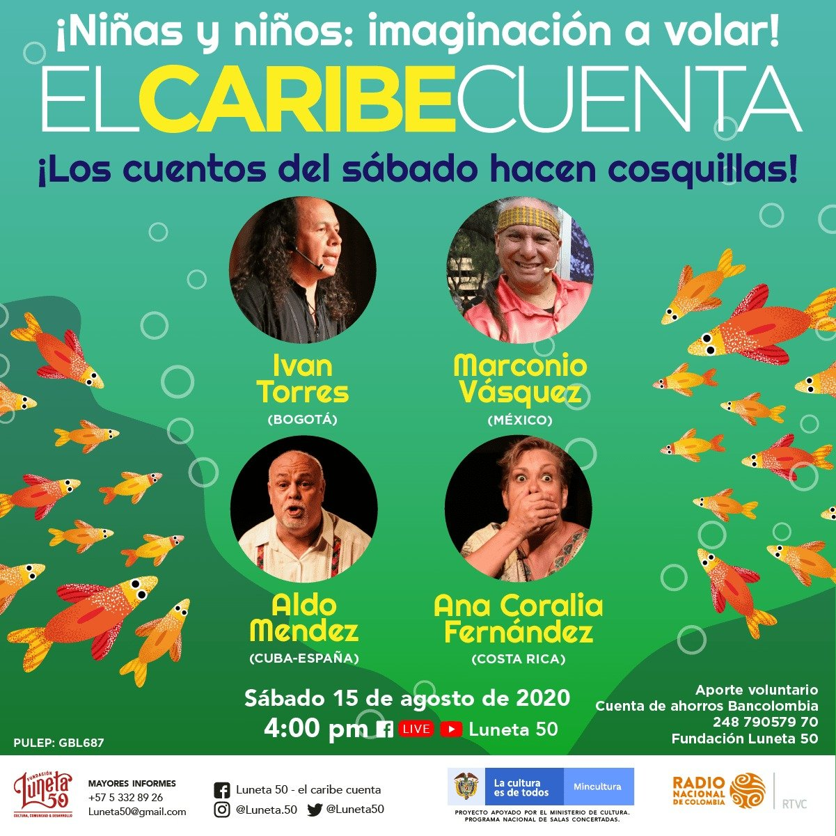 """Con cuentos de mar y río, sigue  la fiesta de las palabras de """"El Caribe cuenta"""" - WhatsApp-Image-2020-08-10-at-12.01.12-PM"""