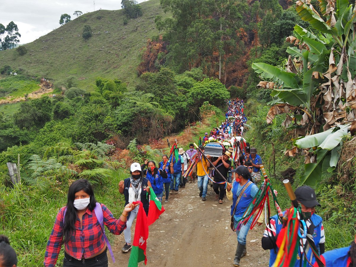 Colombia, desde el 2017 Tres comunicadores indígenas asesinados - indigenas-nasa