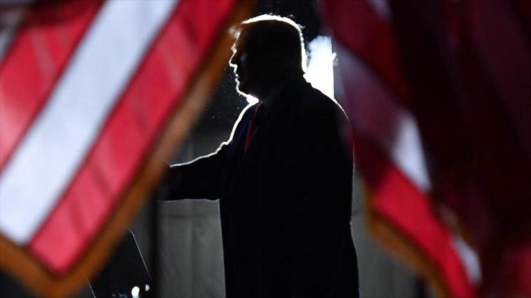 El presidente de EE.UU., Donald Trump, habla en un evento en Mosinee, Wisconsin, 17 de septiembre de 2020. (Foto: AFP)