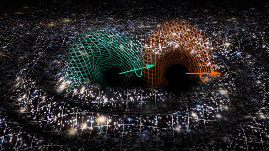 La fusión de dos agujeros negros en otro supermasivo desconcierta a la comunidad astrofísica - La-fusion-de-dos-agujeros-negros-en-otro-supermasivo-desconcierta-a-la-comunidad-astrofisica