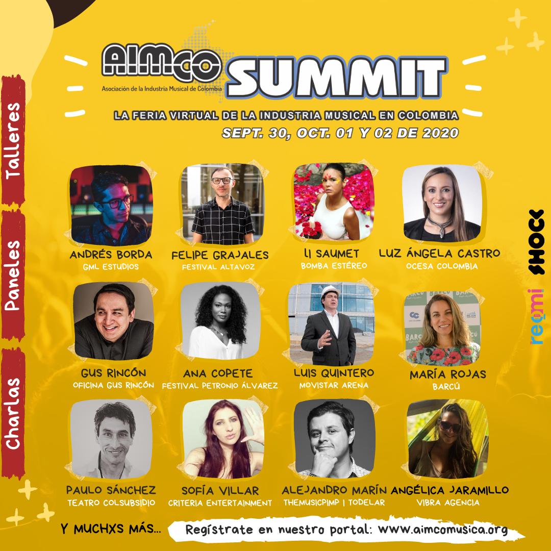 La industria musical de Colombia se encontrará en el AIMCO Summit 20-20 - unnamed-1-1