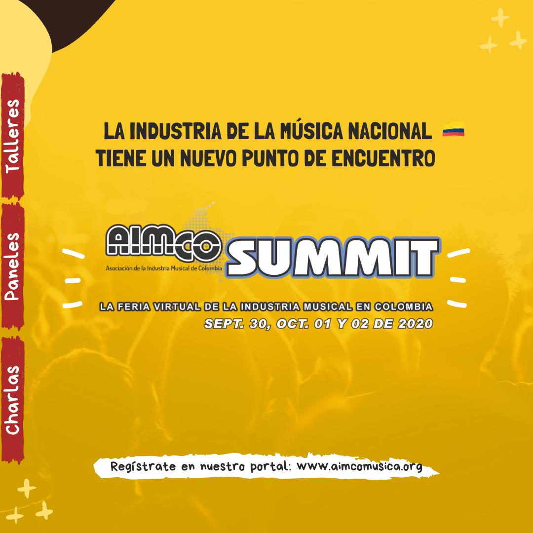 La industria musical de Colombia se encontrará en el AIMCO Summit 20-20 - unnamed-2