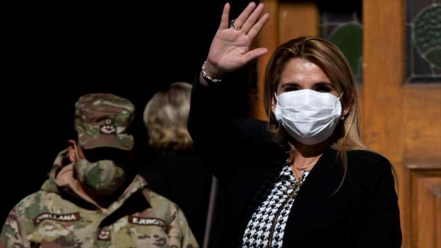 Parlamento boliviano: Jeanine Áñez responderá por masacres - 02432557_xl
