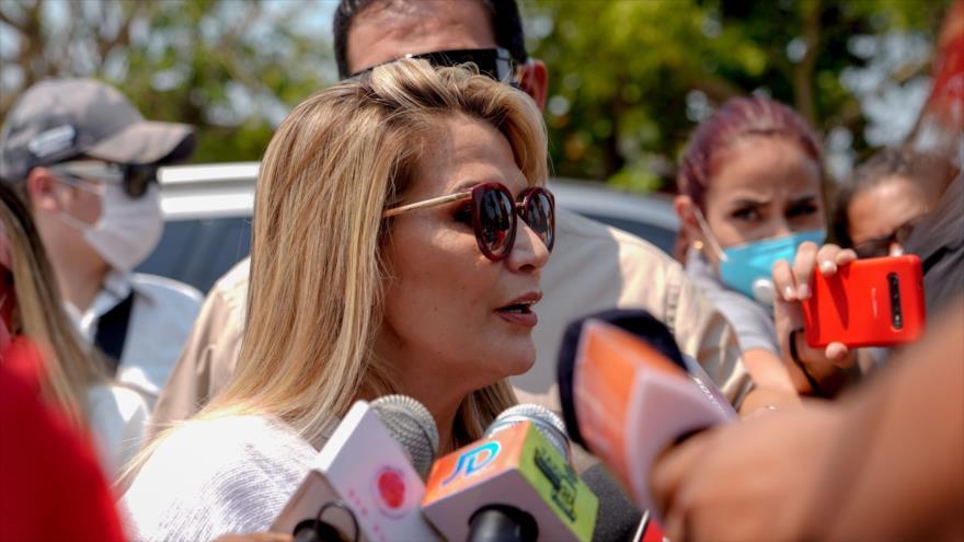 ¿Tiempo de fuga? Áñez pide a EEUU 350 visas tras victoria de Arce - 05431151_xl