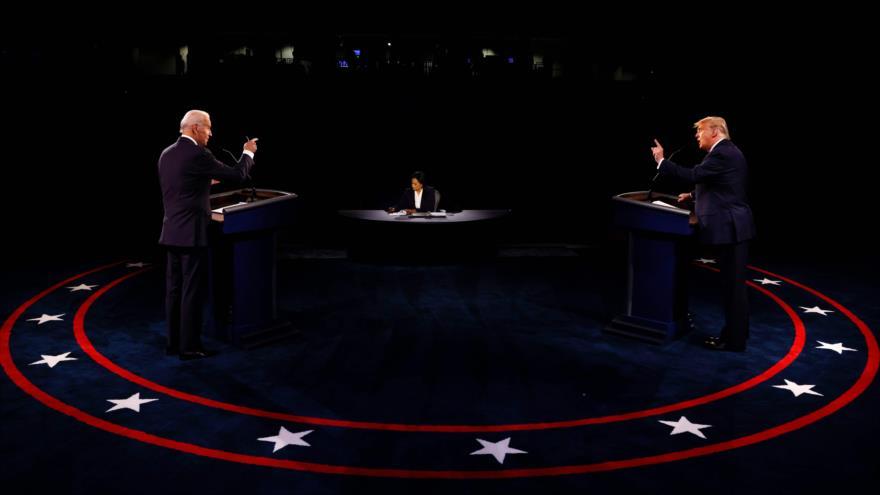 Biden y Trump chocan con sus visiones opuestas en el último debate - 06042248_xl