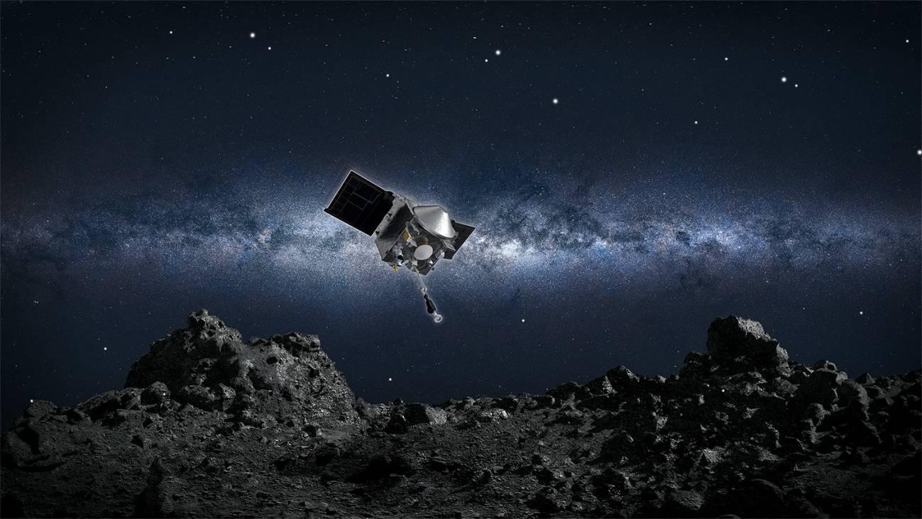 La NASA recoge por primera vez muestras de un asteroide - La-NASA-recoge-por-primera-vez-muestras-de-un-asteroide