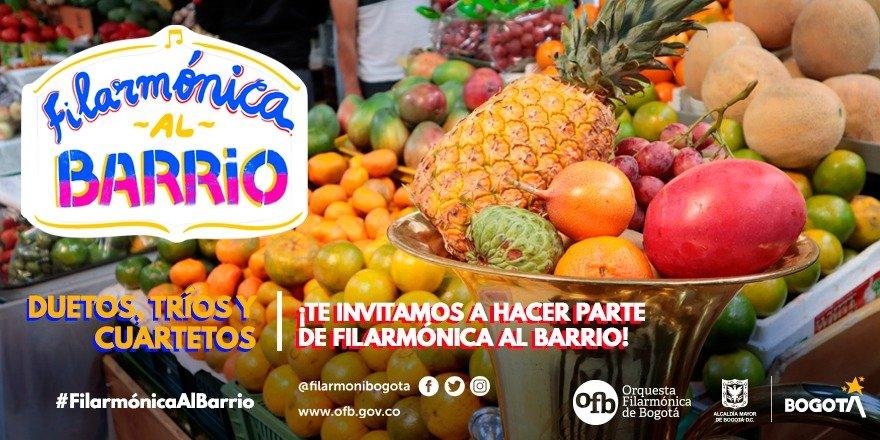 """La Orquesta Filarmónica de Bogotá invita a músicos de la ciudad a ser parte del proyecto """"Filarmónica al Barrio"""" - Pieza-Invitacion-Filarmonica-Al-Barrio-2"""