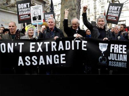 Solidaridad. No a la extradición de Assange - libertad-3