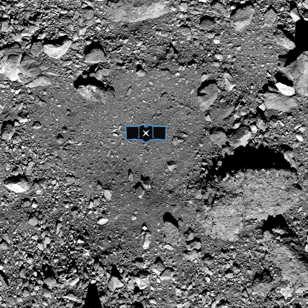La NASA recoge por primera vez muestras de un asteroide - nightingale_0