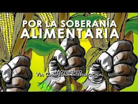 Llamado de Acción Global por la Soberanía Alimentaria contra las transnacionales. ¡Produzcamos, compremos y comamos local! - soberania_alimentaria