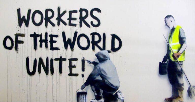 ¿La posible elección de Biden detendrá el deterioro Imperialista? - Banksy-Graffiti-197-768x403-1