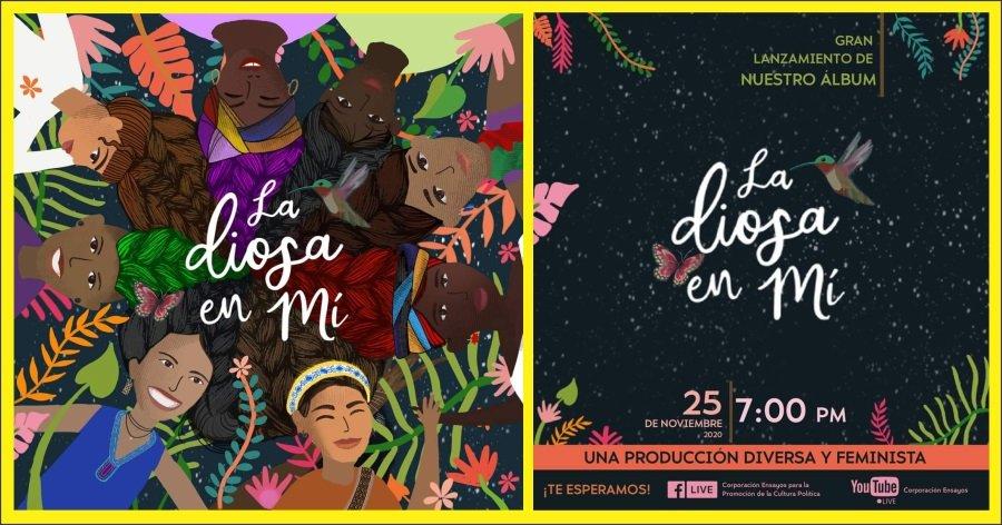La Tormenta Violeta llegó al Cauca con producción discográfica - La-diosa-en-mi-album