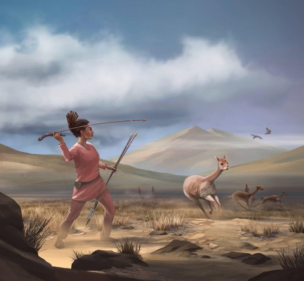 Las mujeres prehistóricas eran cazadoras habituales de grandes presas - Las-mujeres-prehistoricas-eran-cazadoras-habituales-de-grandes-presas