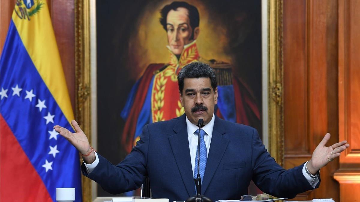 Maduro dice que Bolsonaro no se reúne con él porque le tiene miedo - presidente-venezuela-nicolas-maduro-durante-rueda-prensa-que-ofrecido-febrero-del-2020-caracas-1581703723648