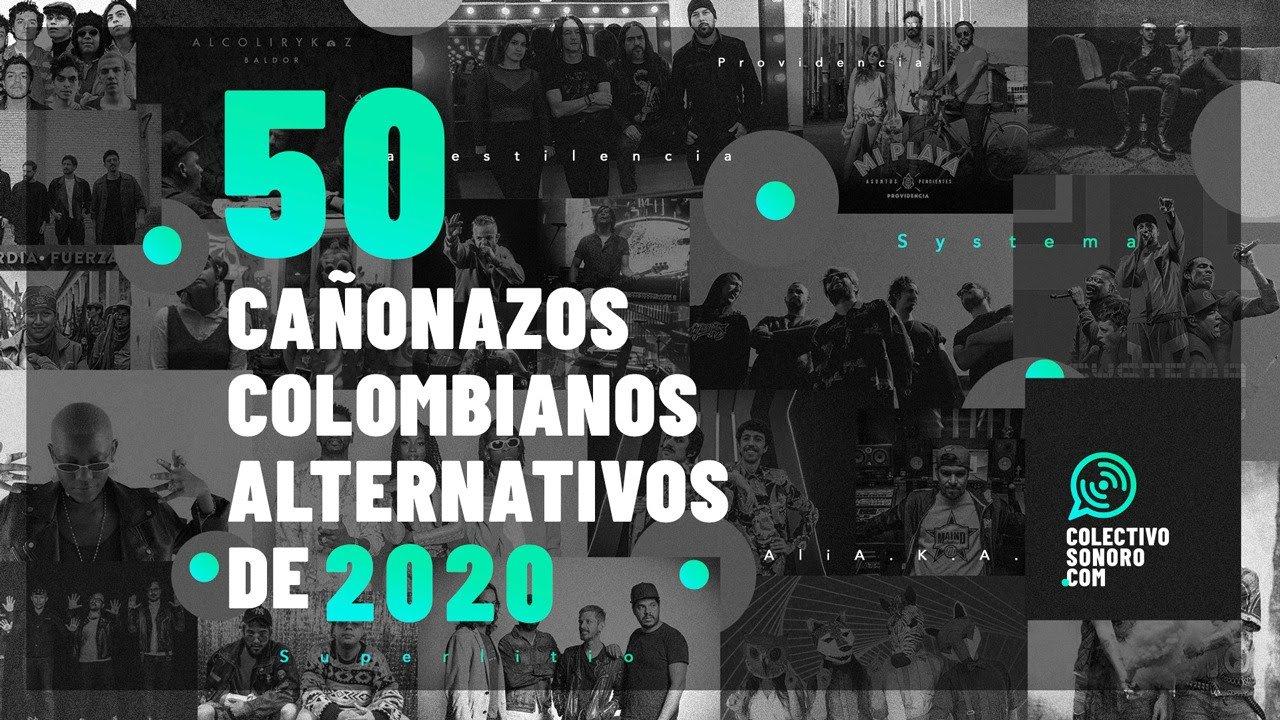 Colectivo Sonoro presenta  Las 50 canciones colombianas alternativas más importantes de 2020 - unnamed-18