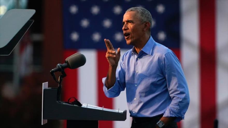 Obama acusa a Trump de incitar el asalto al Capitolio de EEUU - 08001661_xl