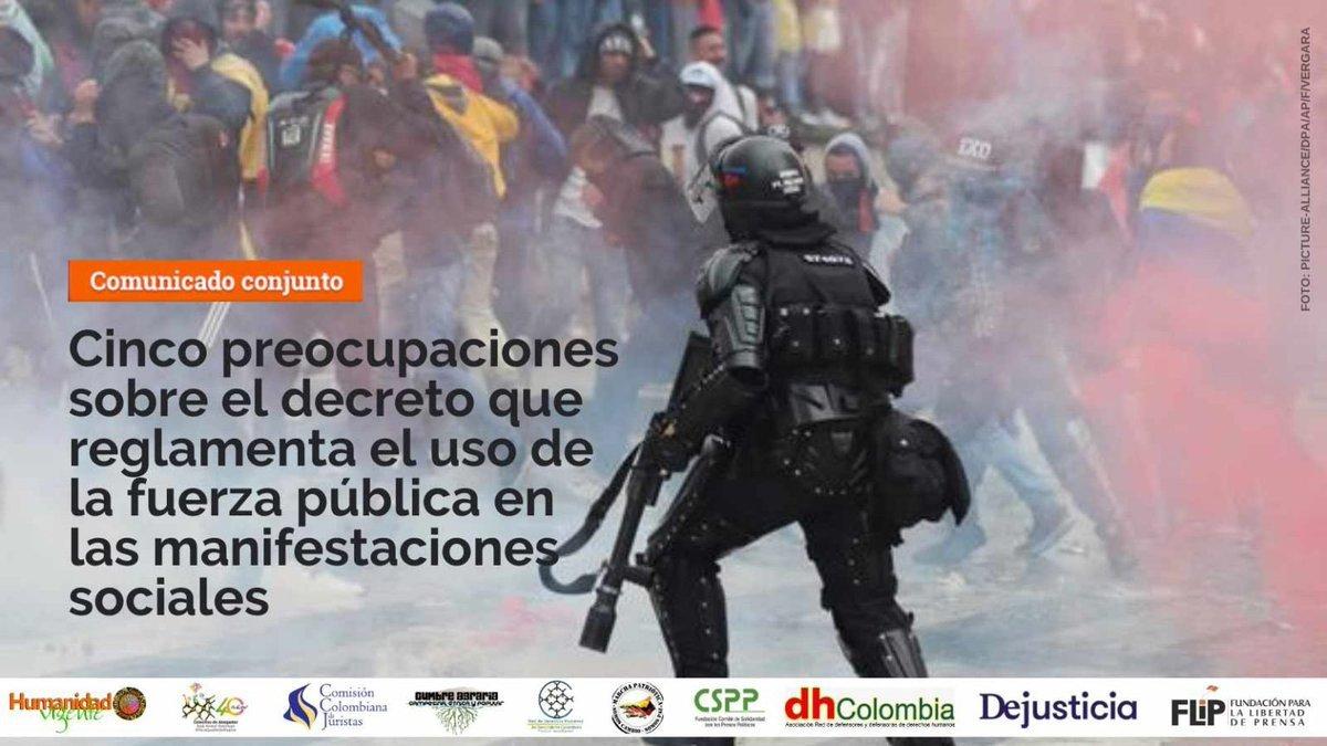 Comunicado de organizaciones humanitarias: Nuevas directrices a Fuerza Pública son insuficientes - ErundKGW4AAtb7o
