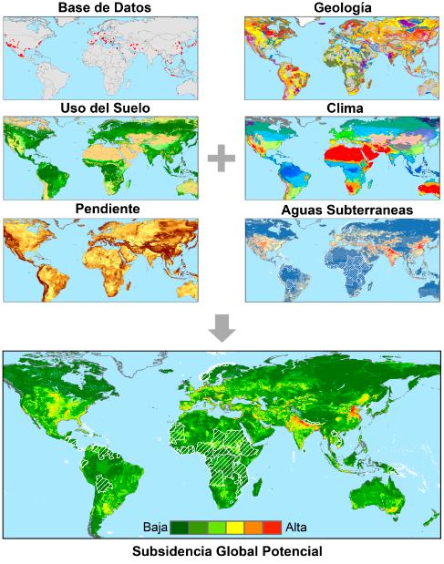 El hundimiento del suelo podría afectar al 19 % de la población mundial en 2040 - Sin-titulo