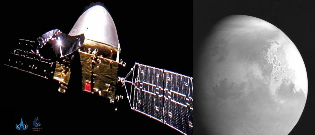 La nave china Tianwen-1 se prepara para entrar en la órbita de Marte - La-nave-china-Tianwen-1-se-prepara-para-entrar-en-la-orbita-de-Marte