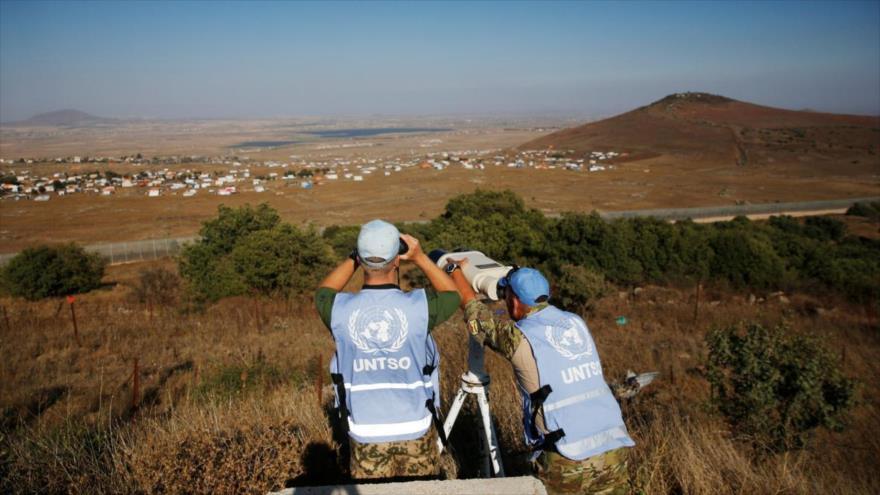 ONU urge a Israel fin de la ocupación de altos del Golán sirios - 04254615_xl