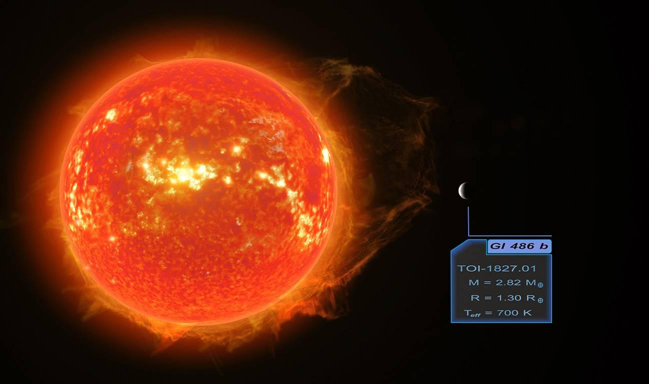 Descubierta una cercana supertierra ideal para la investigación atmosférica - trifonov4HR