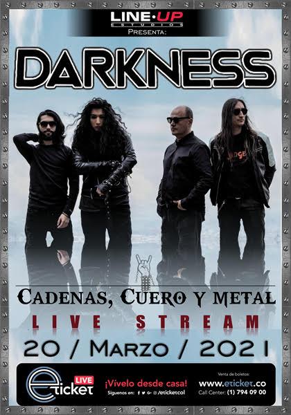 """DARKNESS """"CADENAS, CUERO Y METAL, LIVE STREAM"""" - unnamed"""