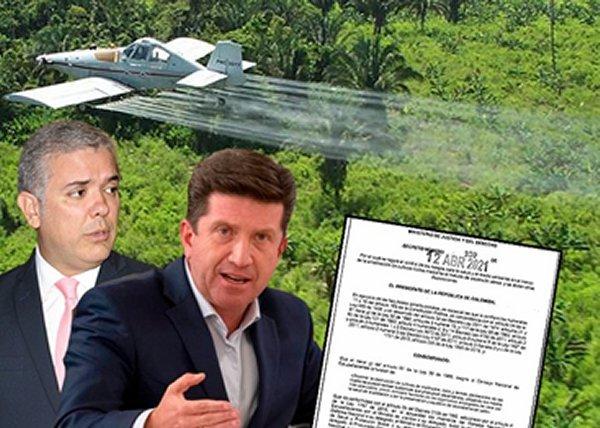 Guerra química, ecocidio y puntillazo final al Acuerdo de la Habana 2016 - colombia_guerra_quimica
