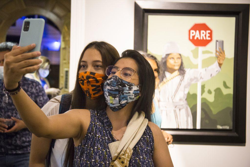VI Salón BAT de arte popular en su itinerancia nacional  llega al Museo La Tertulia en Cali - Salon-de-Arte-Popular-22-abril-2021-Fotos-Leonardo-Linares-44-1024x683