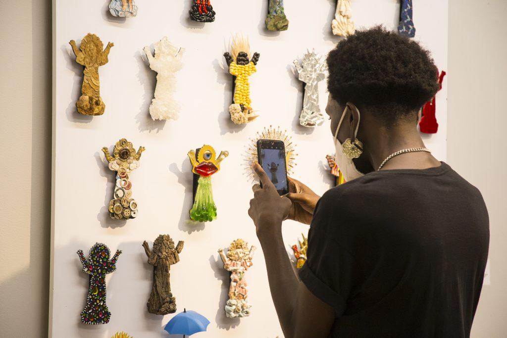 VI Salón BAT de arte popular en su itinerancia nacional  llega al Museo La Tertulia en Cali - Salon-de-Arte-Popular-22-abril-2021-Fotos-Leonardo-Linares-48-1-1024x683